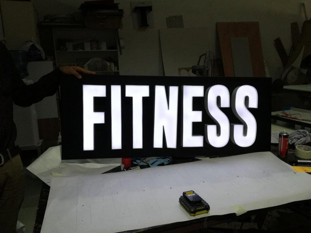 3D and Led Signage